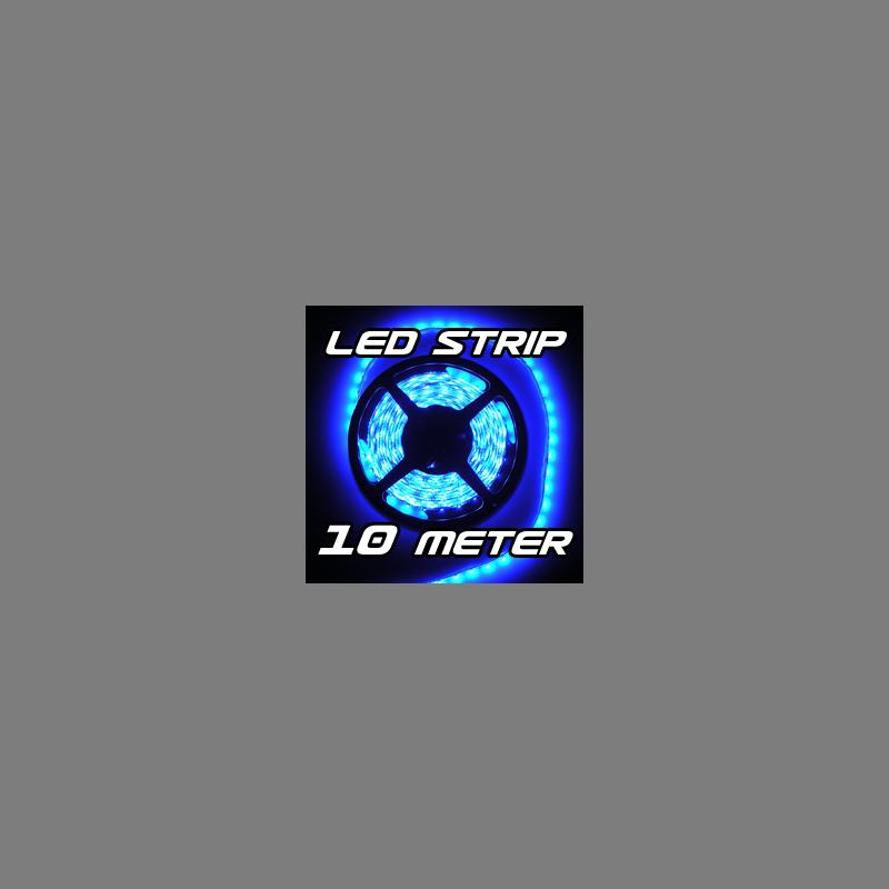 led strip streifen blau 10 m 10m 600 x smd 3528 leds 12v 73 99. Black Bedroom Furniture Sets. Home Design Ideas